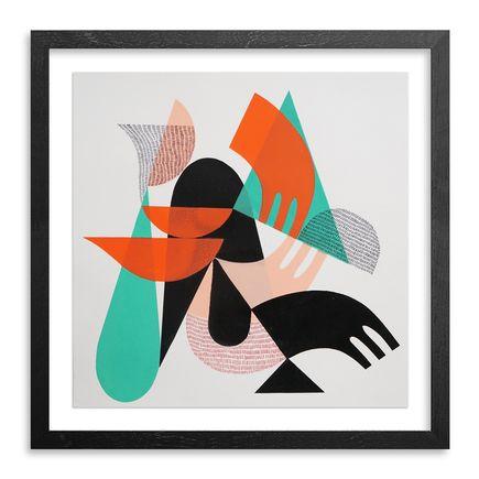 Jessie & Katey Original Art - Monoprint X - Original Artwork