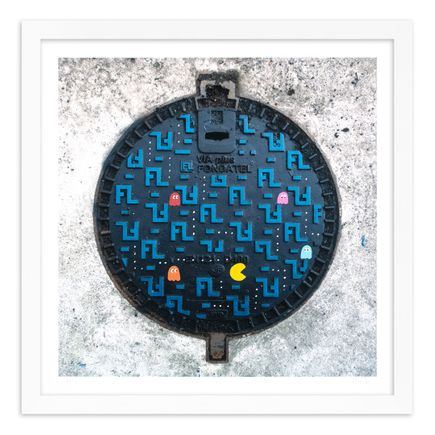 OakOak Art Print - 7 of 15 - Pac Man: Level I - Hand-Painted Multiples