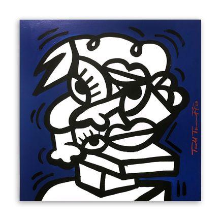Sheefy Original Art - Blueberry Study - 18 x 18 Inches - Original Artwork