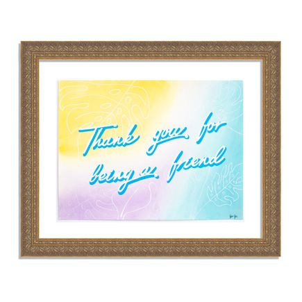 Diana Georgie Original Art - Thank You For Being A Friend - Original Artwork
