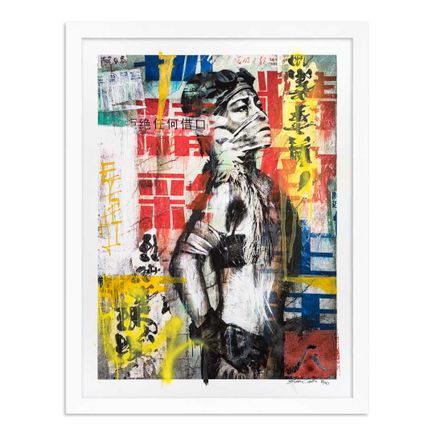 Eddie Colla Art Print - 8 of 40 - Without Excuse - Hand-Embellished Edition