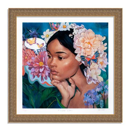 Helice Wen Art Print - A Garden Within - Hand-Embellished Edition - Variant VIII