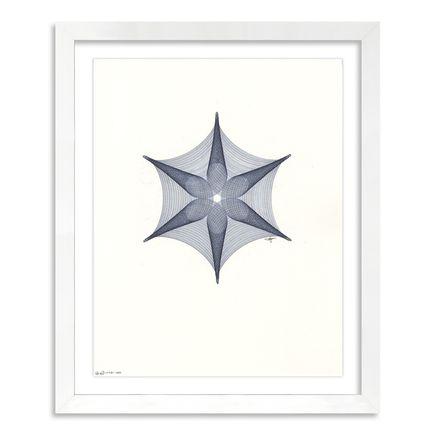 Mary Wagner Original Art - Blue Stella - Original Artwork