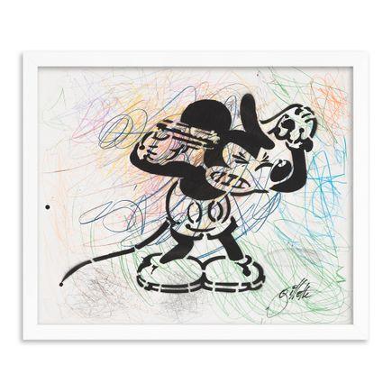 Jeff Gillette Original Art - 06 - Mickey Suicide - Part II - Hand-Painted Multiples
