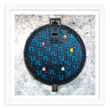 OakOak Art Print - 8 of 15 - Pac Man: Level I - Hand-Painted Multiples
