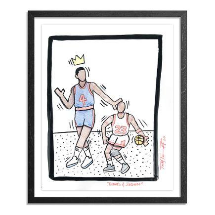 Sheefy Original Art - Dumars & Jordan - Original Artwork