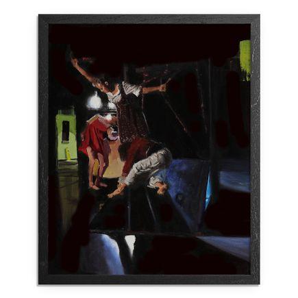 Adam Caldwell Original Art - Doorway - Framed Original Artwork