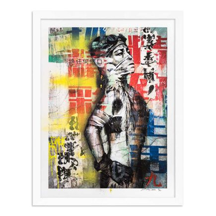 Eddie Colla Art Print - 9 of 40 - Without Excuse - Hand-Embellished Edition