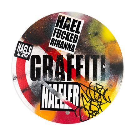 Hael Original Art - Graffiti Banned - VII