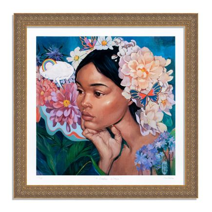 Helice Wen Art Print - A Garden Within - Hand-Embellished Edition - Variant IX