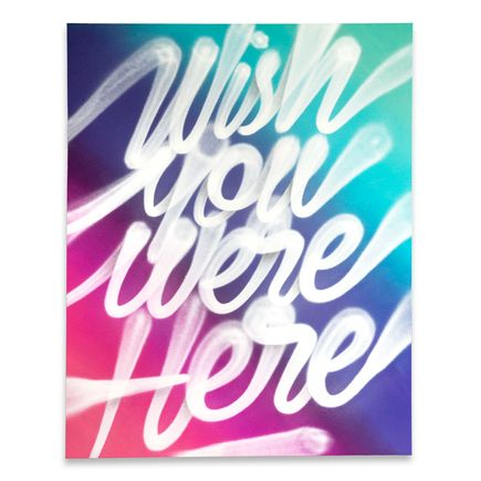 It's A Living Original Art - Wish You Were Here - Original Artwork