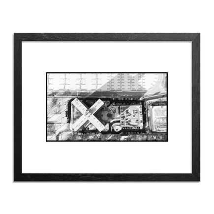 Mike Popso Original Art - X Marks the spot