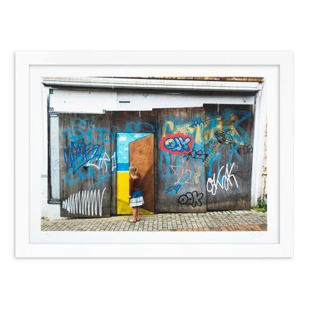 OakOak Art Print - 9 of 15 - Escape Door - Hand-Painted Multiple