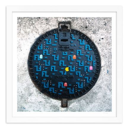 OakOak Art Print - 9 of 15 - Pac Man: Level I - Hand-Painted Multiples