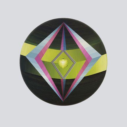 Rebekka Borum Original Art - Geometric Force - Original Artwork