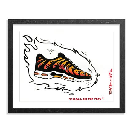 Sheefy Original Art - Fireball Air Max Plus - Original Artwork