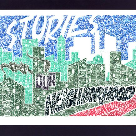 Jurne Art Print - Stories From Our Neighborhood