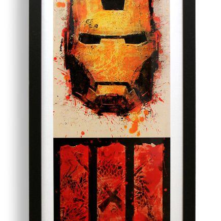 Bask Art Print - Iron Man 3 - Box Office Edition Limited Print