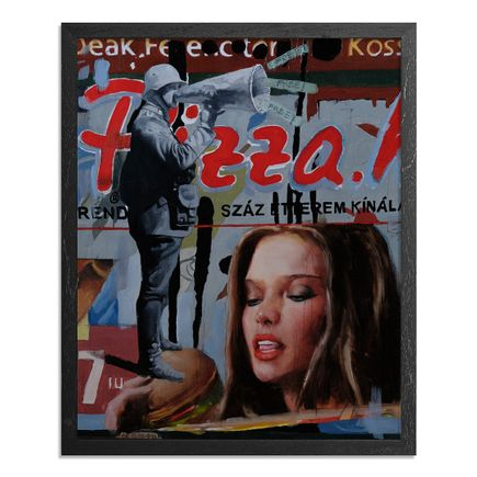 Adam Caldwell Original Art - Ferenc Deak - Framed Original Artwork
