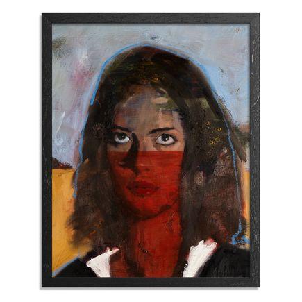 Adam Caldwell Original Art - Ivanna - Framed Original Artwork