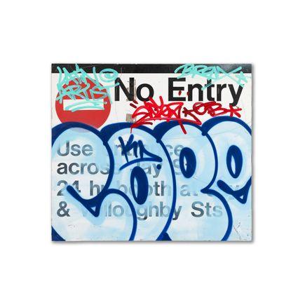 Cope2 Original Art - No Entry - Original Artwork