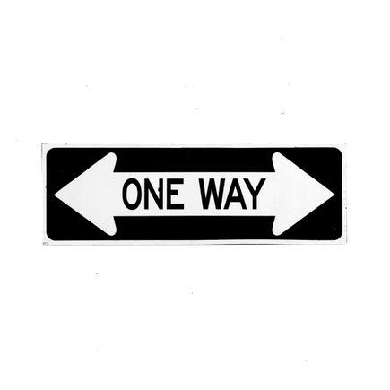 Denial Original Art - One Way (Large) - Cut-Out