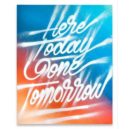 It's A Living Original Art - Here Today Gone Tomorrow - Original Artwork