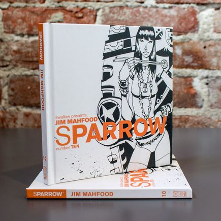 Swallow Presents: Sparrow Book - #10 Jim Mahfood