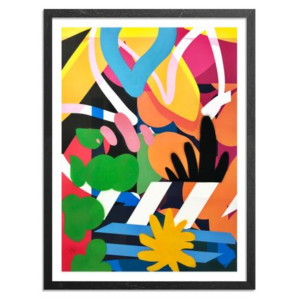 Maser Art - 10 of 14 - Habitats II - Hand-Painted Edition
