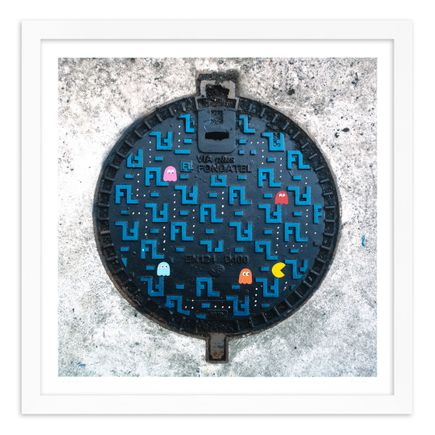 OakOak Art Print - 10 of 15 - Pac Man: Level I - Hand-Painted Multiples