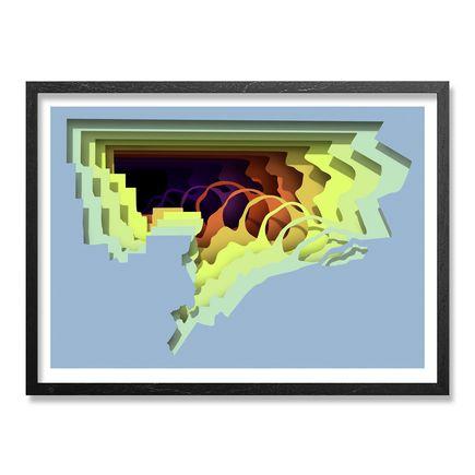 1010 Art Print - Cave III - 24x18 Inch Edition
