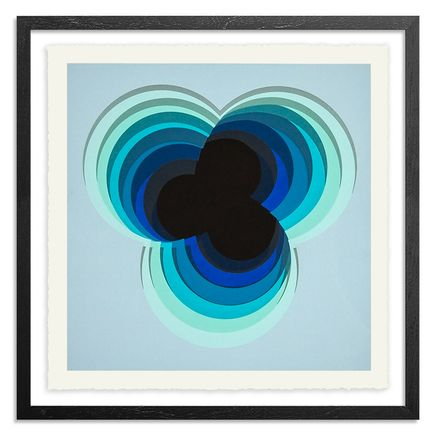 1010 Art Print - Viola - Blue Edition