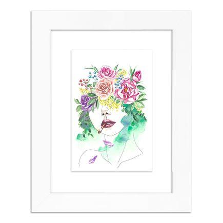 June Jung Original Art - The Queen - Original Artwork