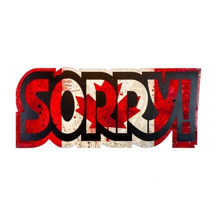 Denial Original Art - Sorry - Cut-Out