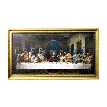 Denial Original Art - The Fast Supper - Original Artwork