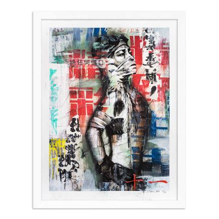 Eddie Colla Art Print - 11 of 40 - Without Excuse - Hand-Embellished Edition