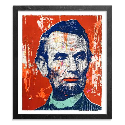 Greg Gossel Art Print - Honest Abe - 11