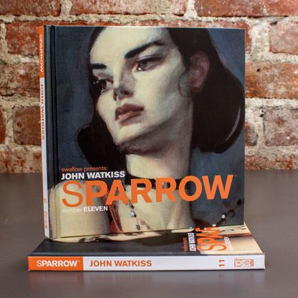 Swallow Presents: Sparrow Book - #11 John Watkiss