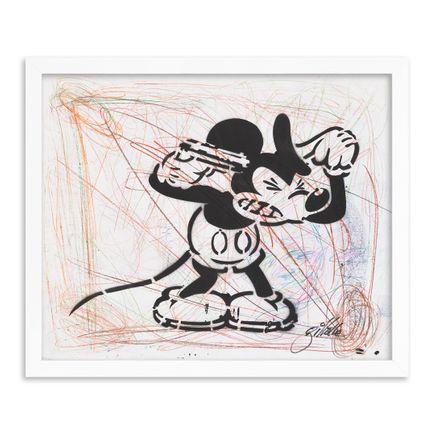 Jeff Gillette Original Art - 08 - Mickey Suicide - Part II - Hand-Painted Multiples