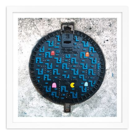 OakOak Art Print - 11 of 15 - Pac Man: Level I - Hand-Painted Multiples