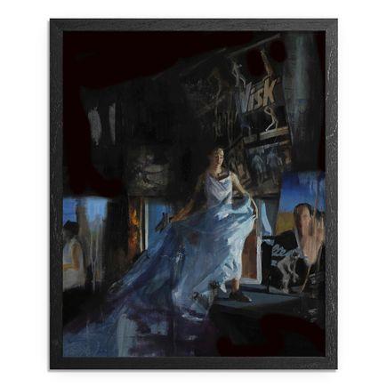 Adam Caldwell Original Art - The Long Blue - Framed Original Artwork