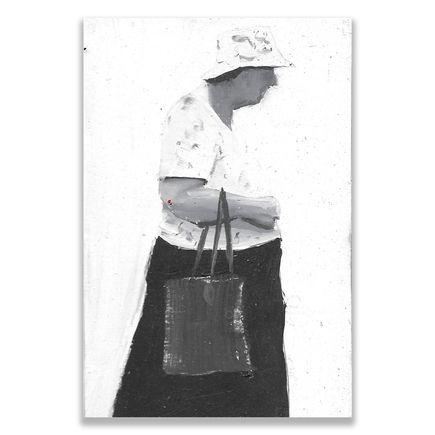 Brett Amory Original Art - Lil Waiter XII