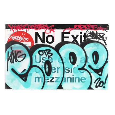 Cope2 Original Art - No Exit - Original Artwork