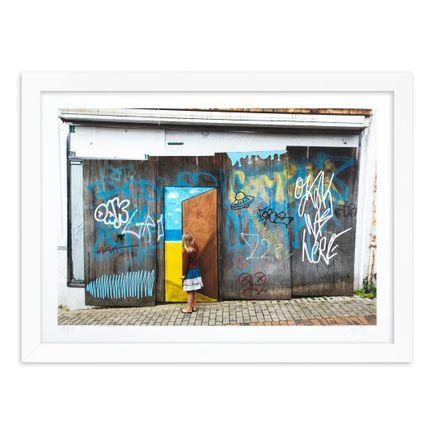 OakOak Art Print - 12 of 15 - Escape Door - Hand-Painted Multiple