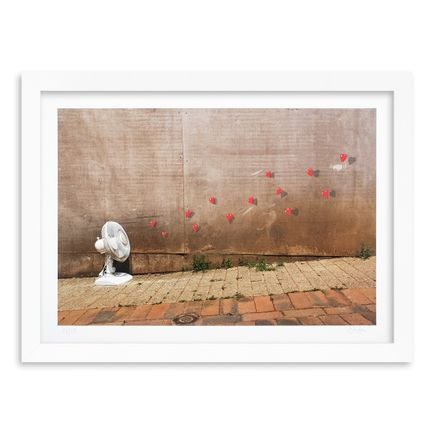 OakOak Art Print - 12 of 15 - Flying Hearts - Hand-Painted Multiple