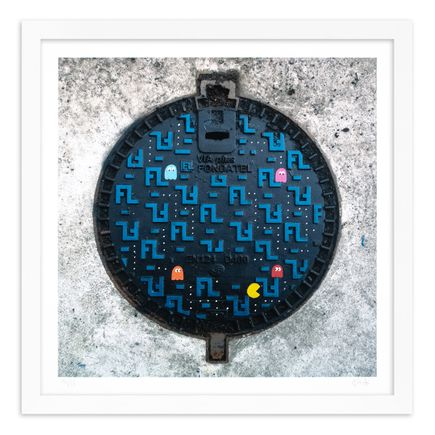 OakOak Art Print - 12 of 15 - Pac Man: Level I - Hand-Painted Multiples