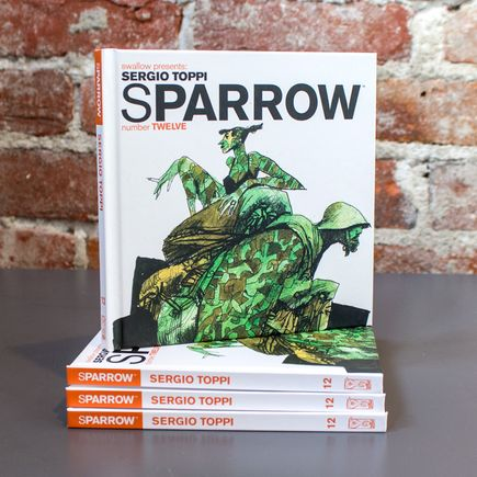 Swallow Presents: Sparrow Book - #12 Sergio Toppi