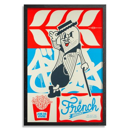 123Klan Art Print - French Arrogance