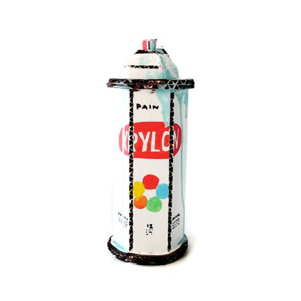 Bill Barminski Art Print - Spray Can - Krylon - Blue II