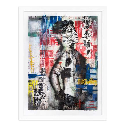 Eddie Colla Art Print - 13 of 40 - Without Excuse - Hand-Embellished Edition